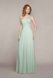 Abendkleid mint